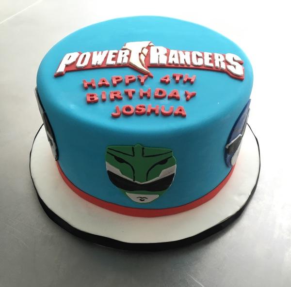 custom cake nj power rangers cake birthday cake