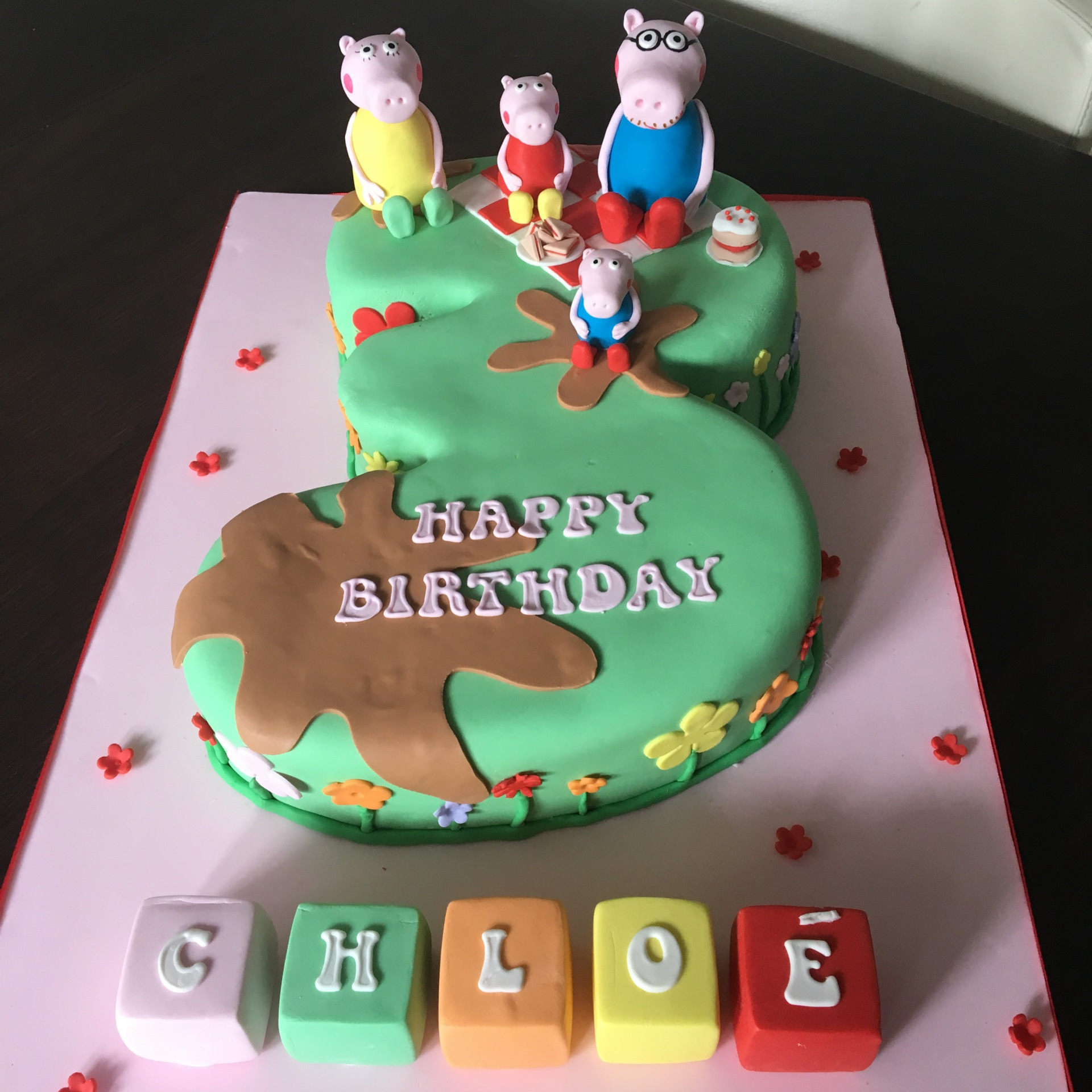 custom cakes nj peppa pig cake