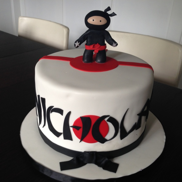 custom cake nj ninja birthday cake