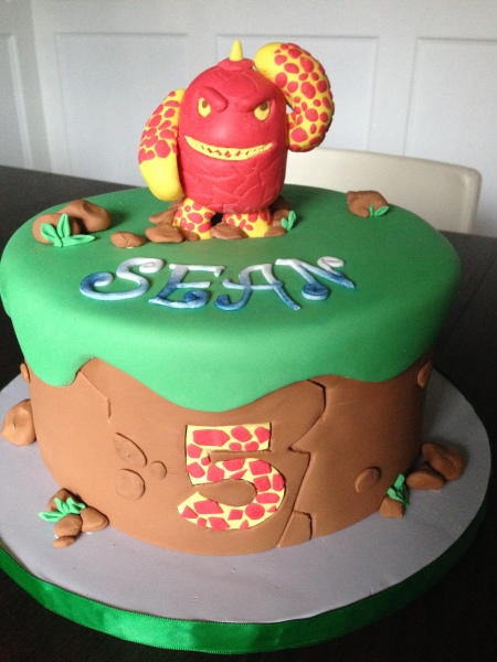 custom cake nj skylanders cake birthday cake