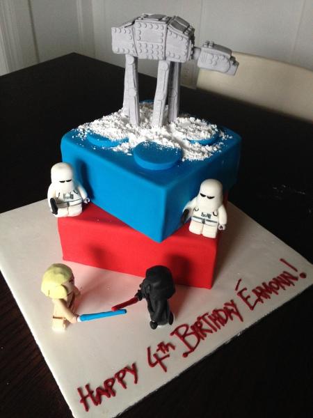 custom cake nj star wars imperial walker cake lego star wars cake