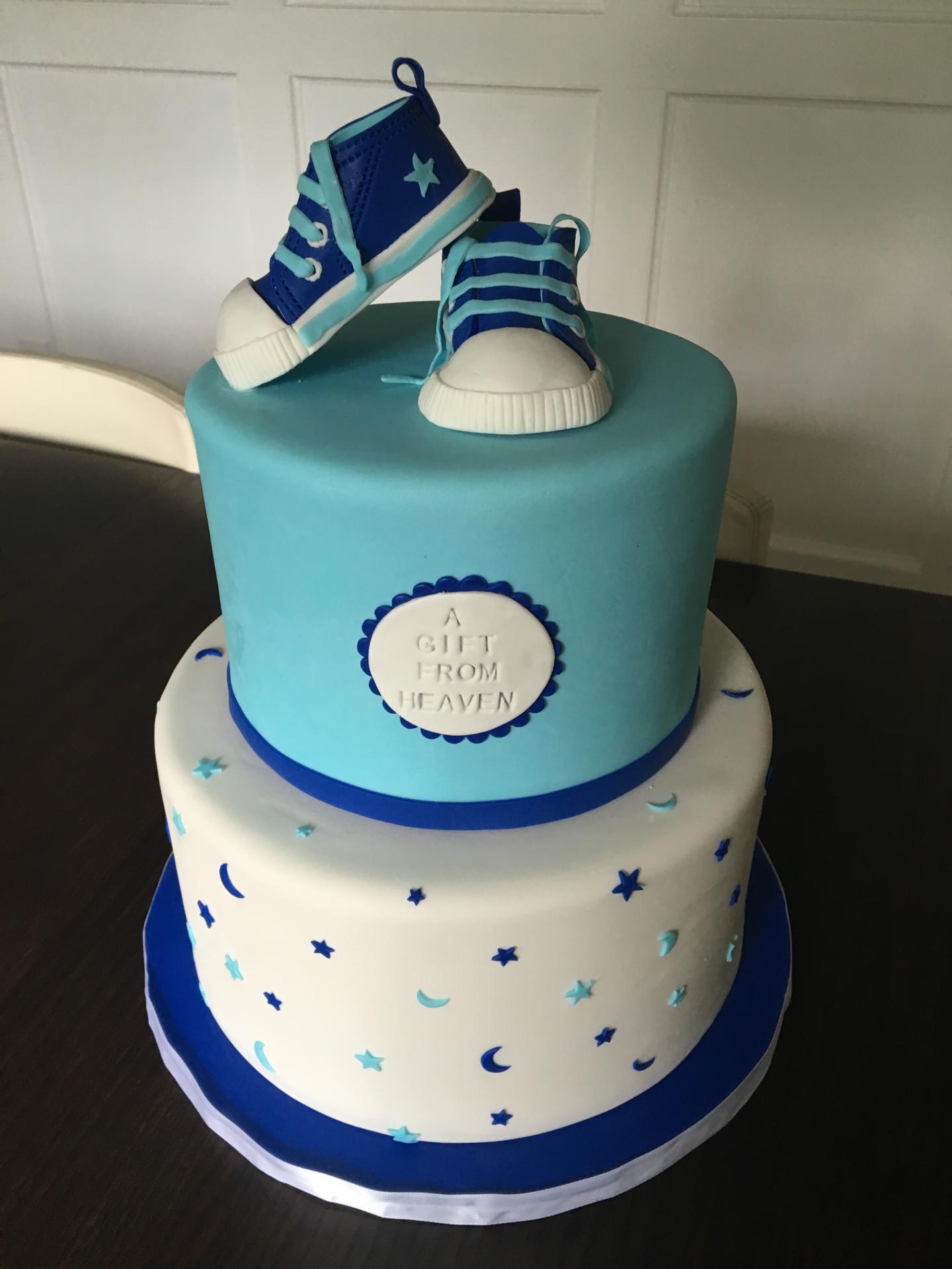 custom cakes nj baby shower cake baby sneakers