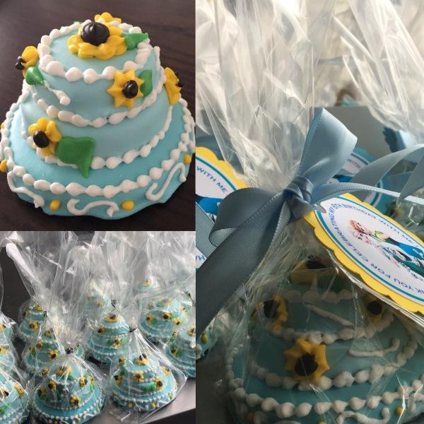 Frozen Cookie Cake