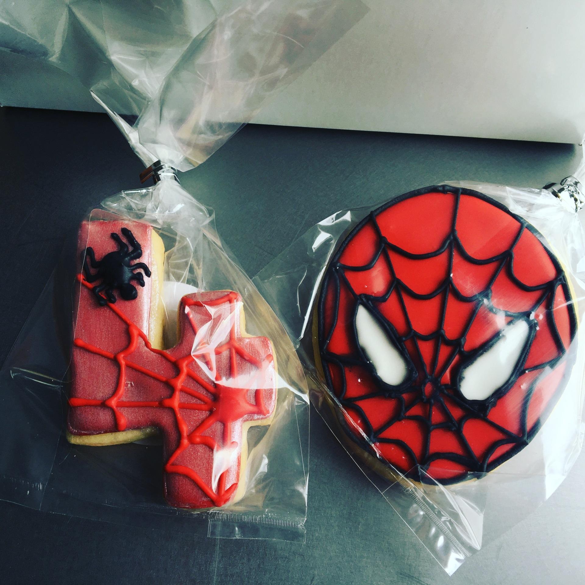 Spiderman Cookie