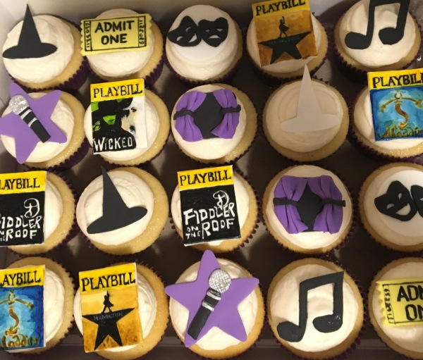 Broadway Cupcakes!