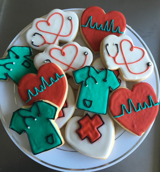 Nurse and Doctor Cookies