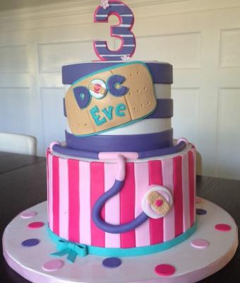 doc mc stuffins cake for little girl