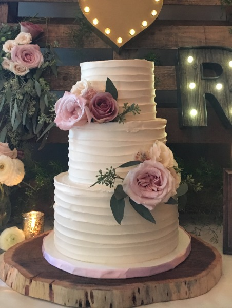 custom cakes nj buttercream wedding cake