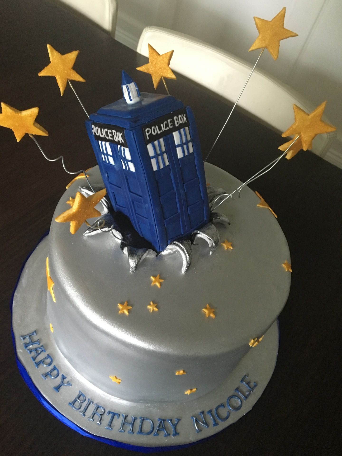 custom cakes nj Dr Who Cake
