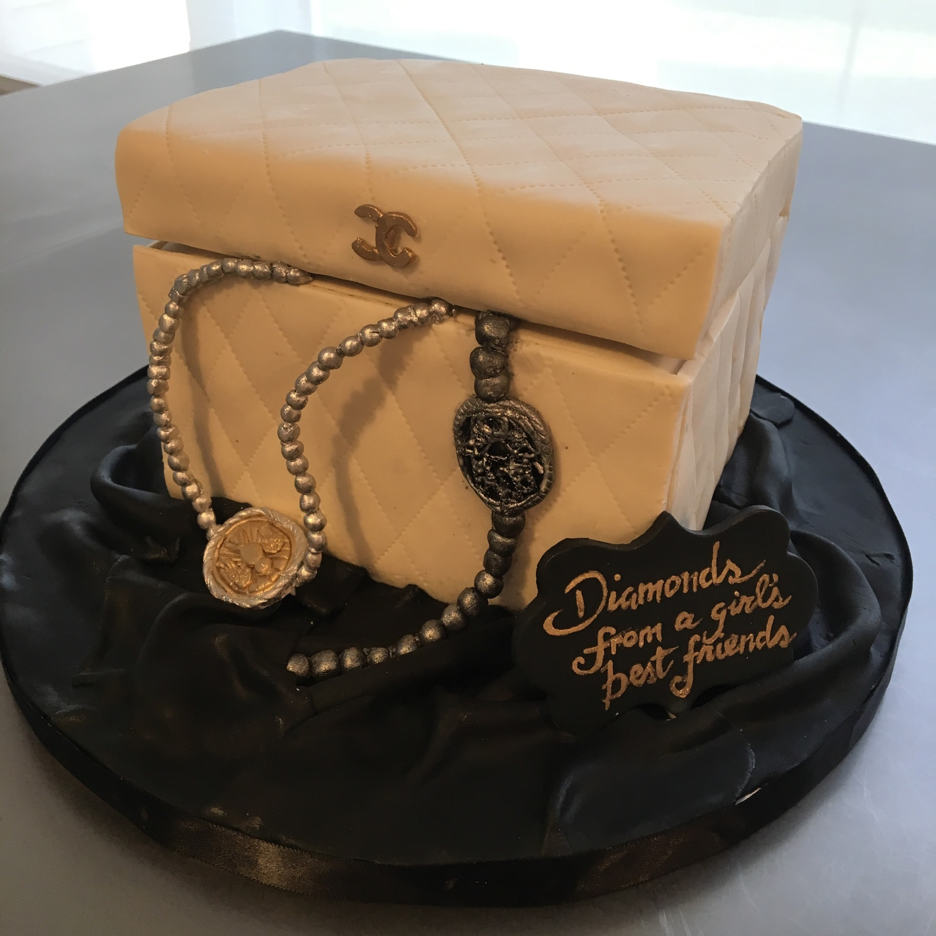 custom cakes nj jewelry chanel box cake