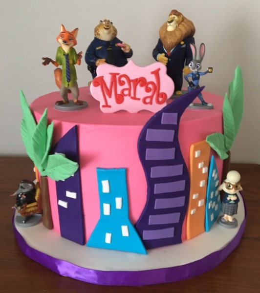 custom cakes nj zootopia buttercream cake