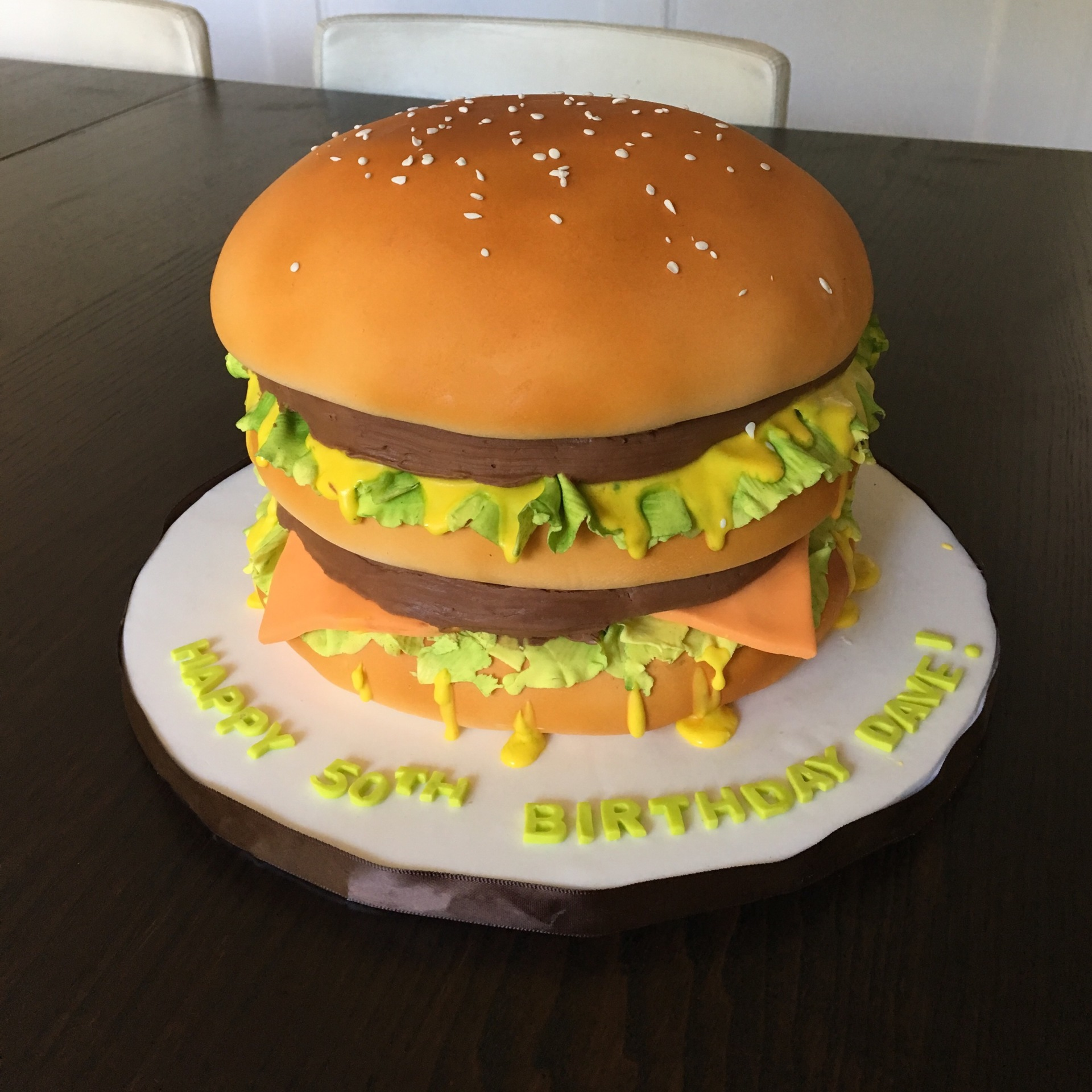 custom cakes nj hamburger cake burger cake
