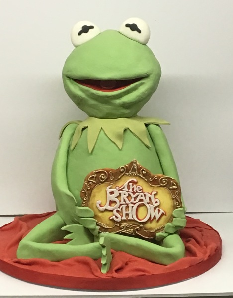 custom cakes nj kermit the frog cake