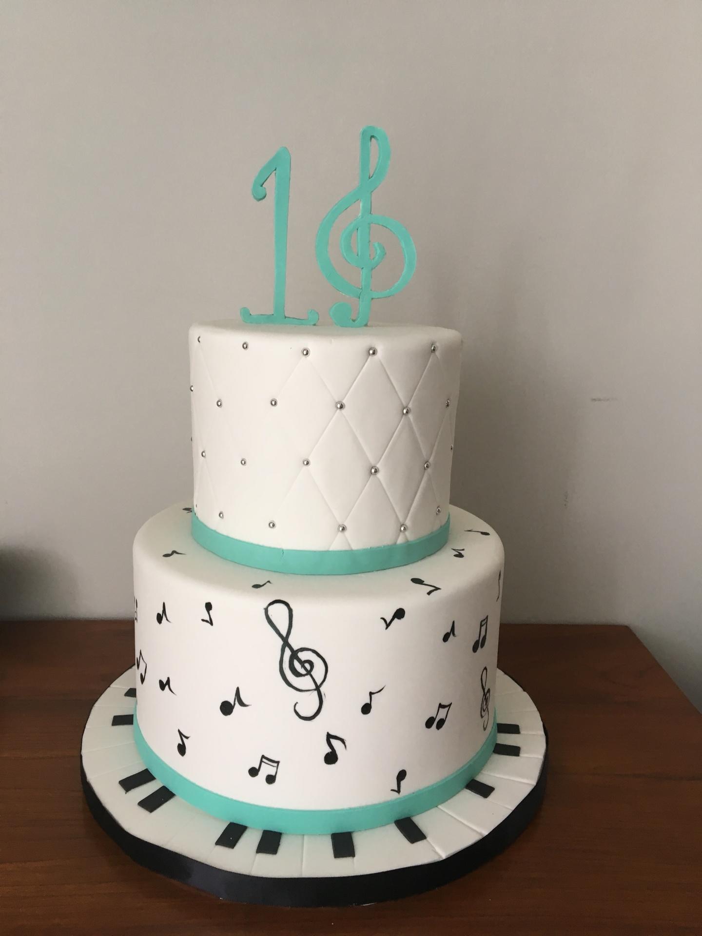 custom cakes nj music themed cake