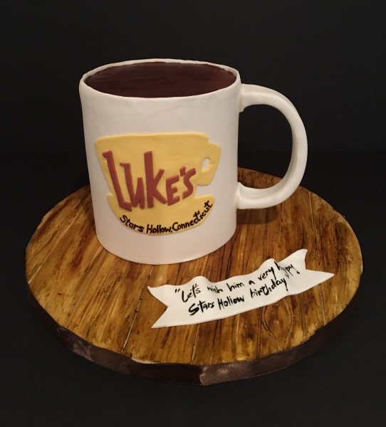 custom cakes nj mug cake gilmore girls