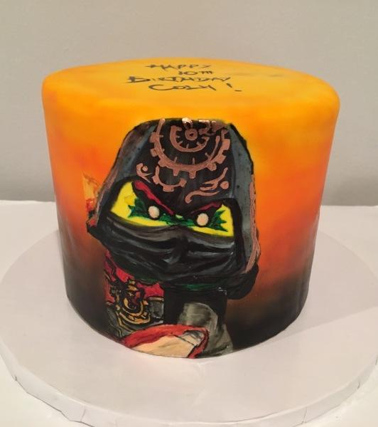 custom cake nj ninjago cake hand painted birthday cake