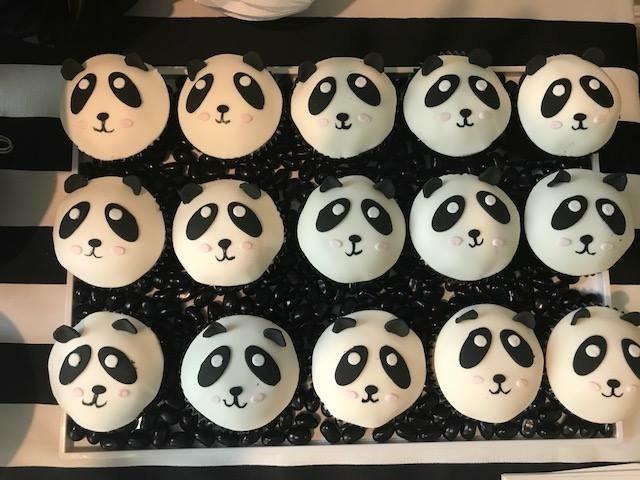 panda cupcake cupcakes