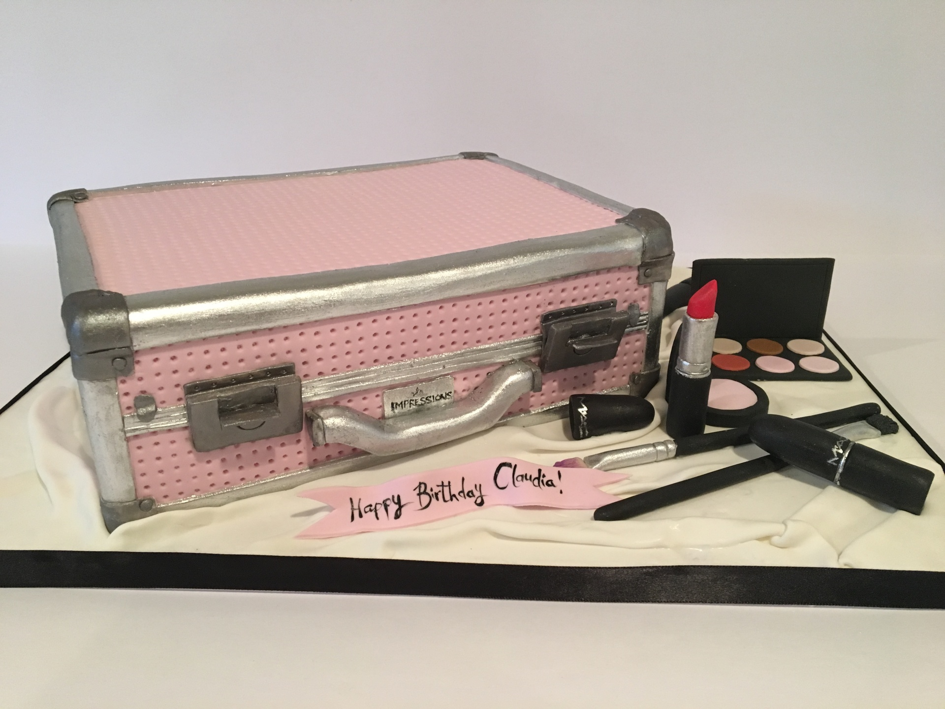 custom cakes nj make up cake mac cake