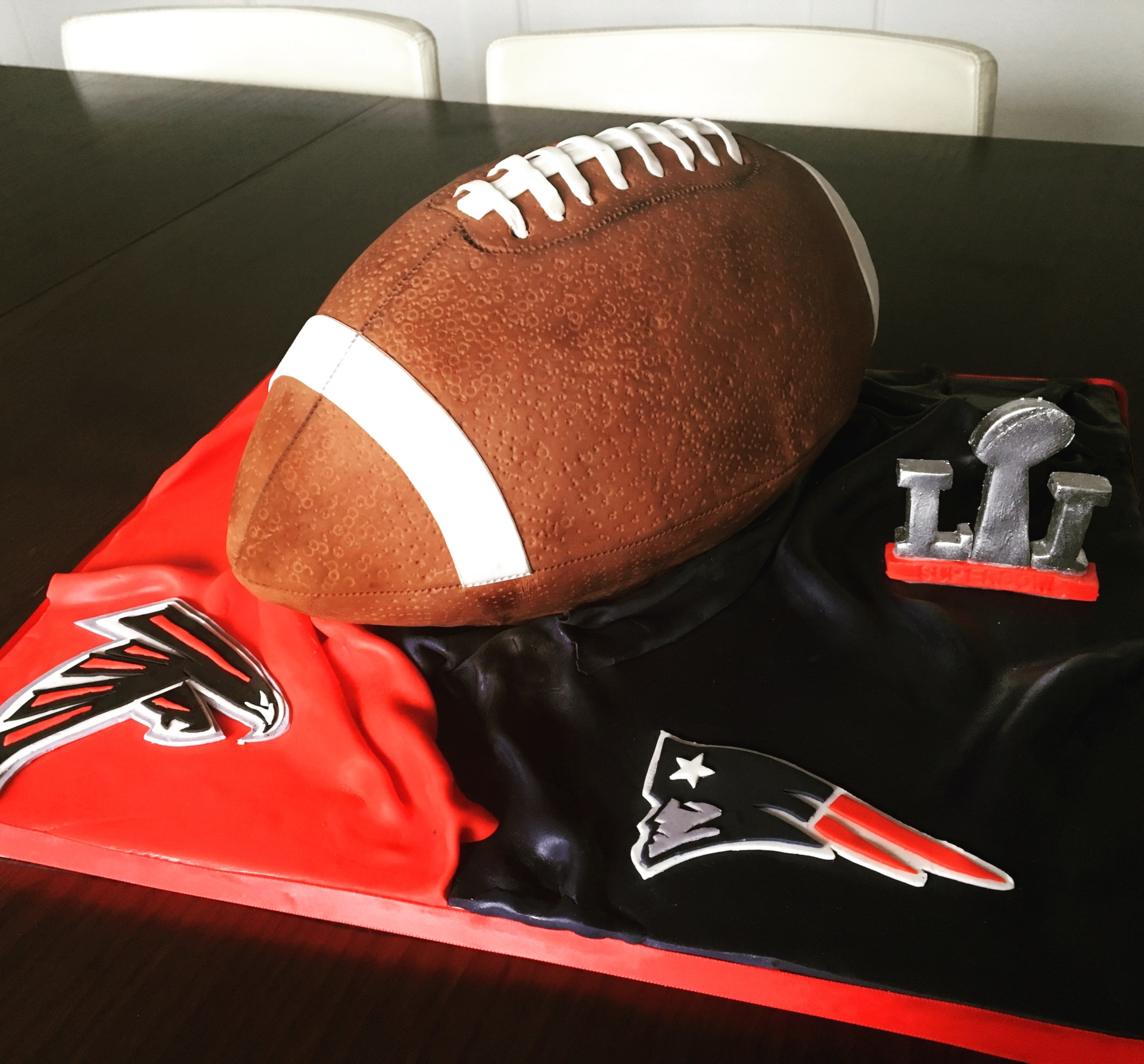custom cakes nj football cake