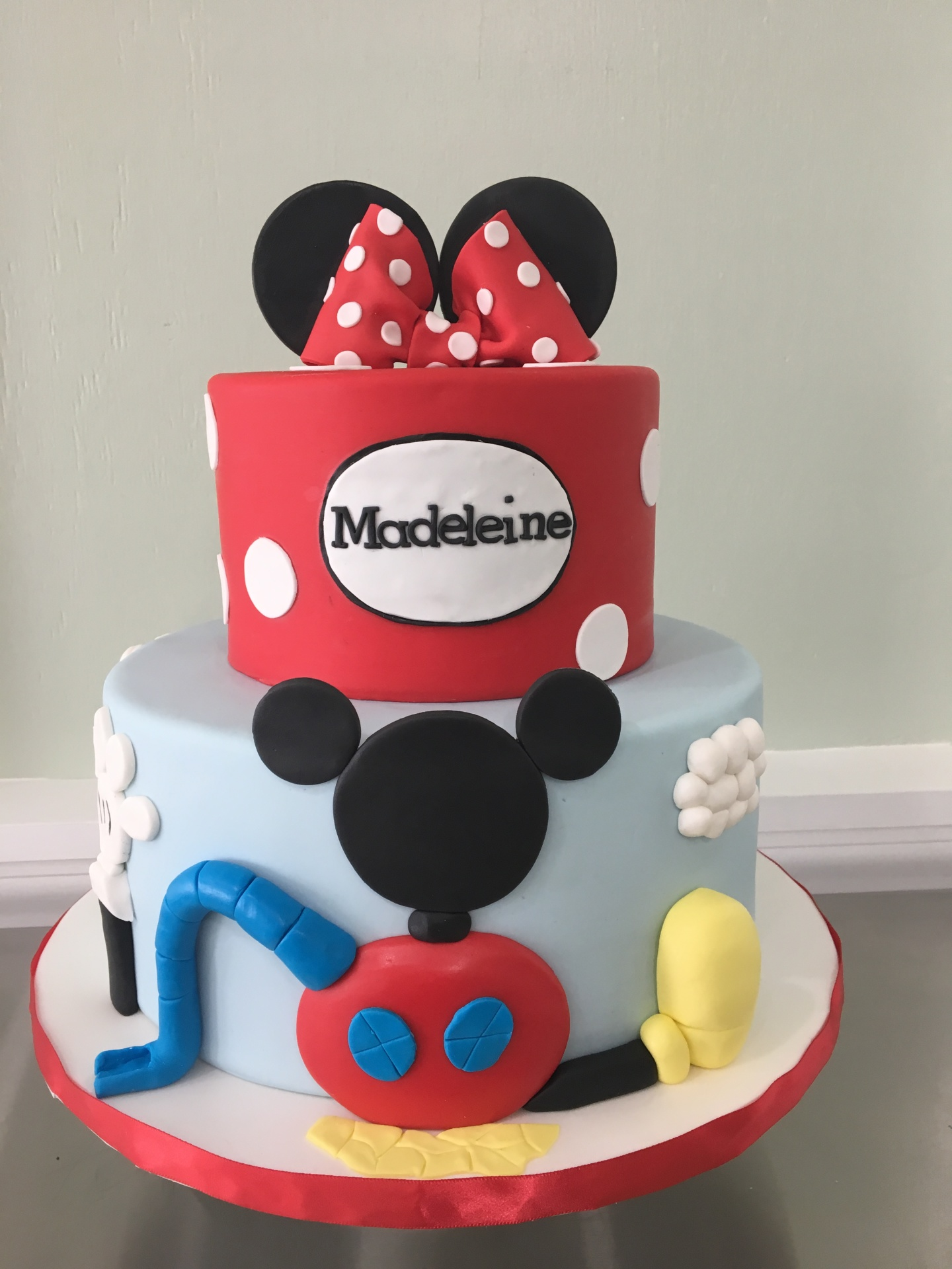 custom cakes nj minnie mouse mickey mouse clubhouse cake
