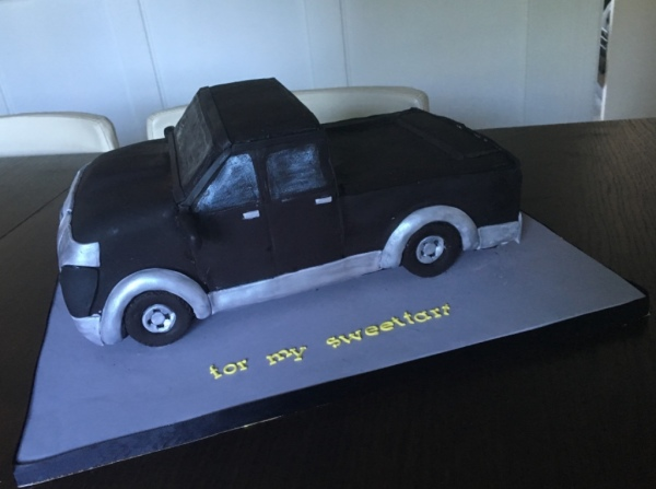 truck cake pick up truck vehicle cake