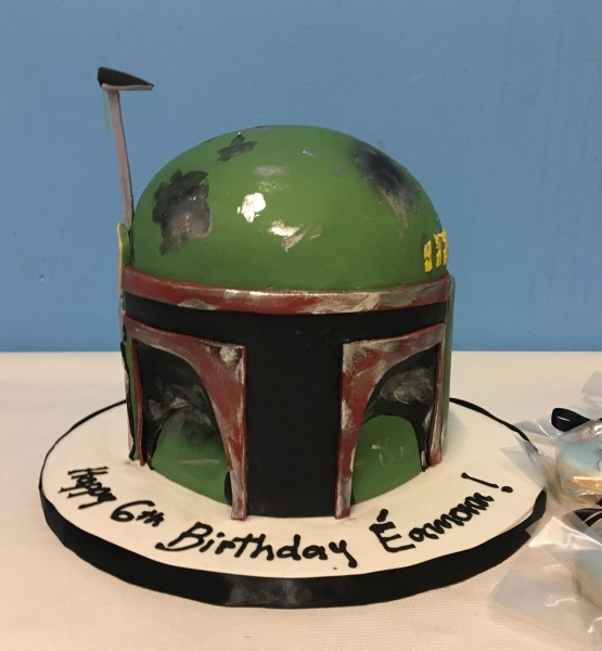 Boba Fett Helmet cake NJ cakes