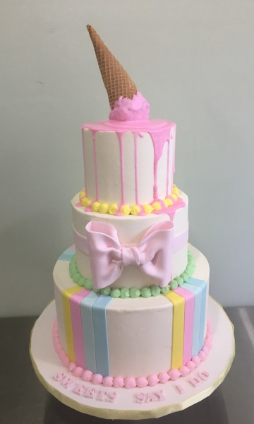 Candy cake pastel colors cakes NJ bergen County