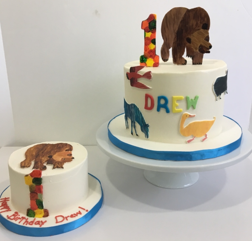 Custom Cakes New Jersey Brown bear cake