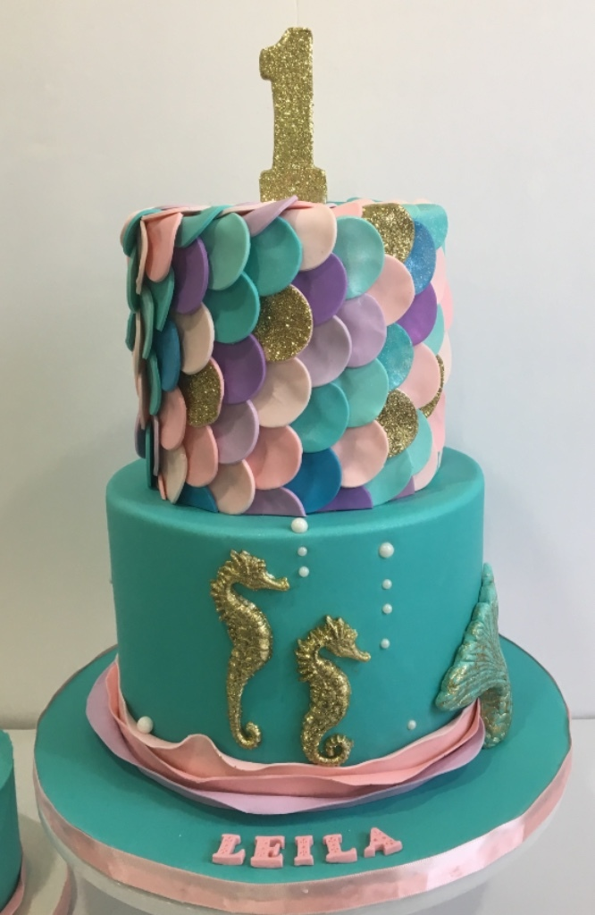 Custom Cakes New Jersey mermaid cake