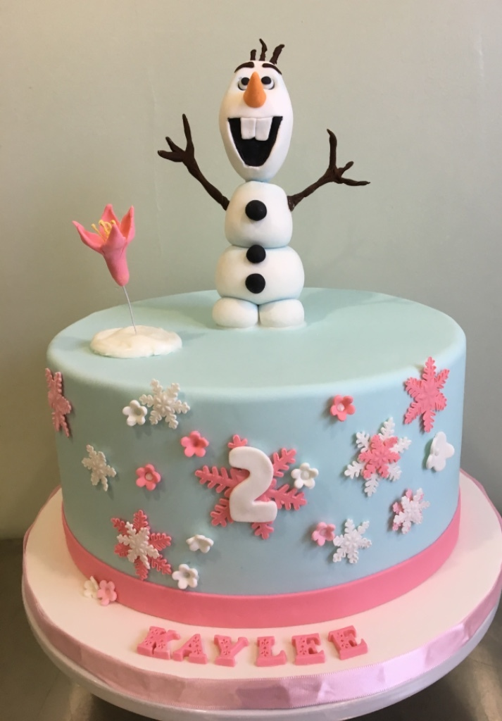 Custom Cakes New Jersey Olaf Frozen