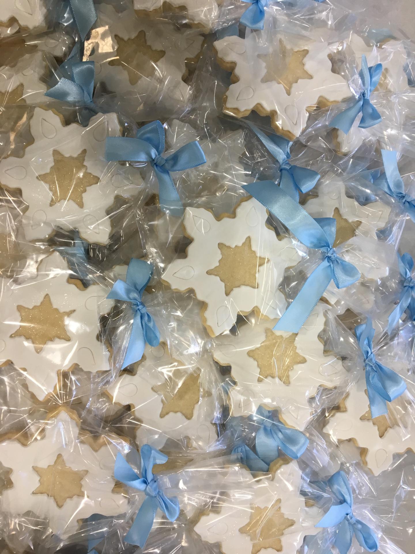 Custom Cookies Snowflakes Cakes NJ