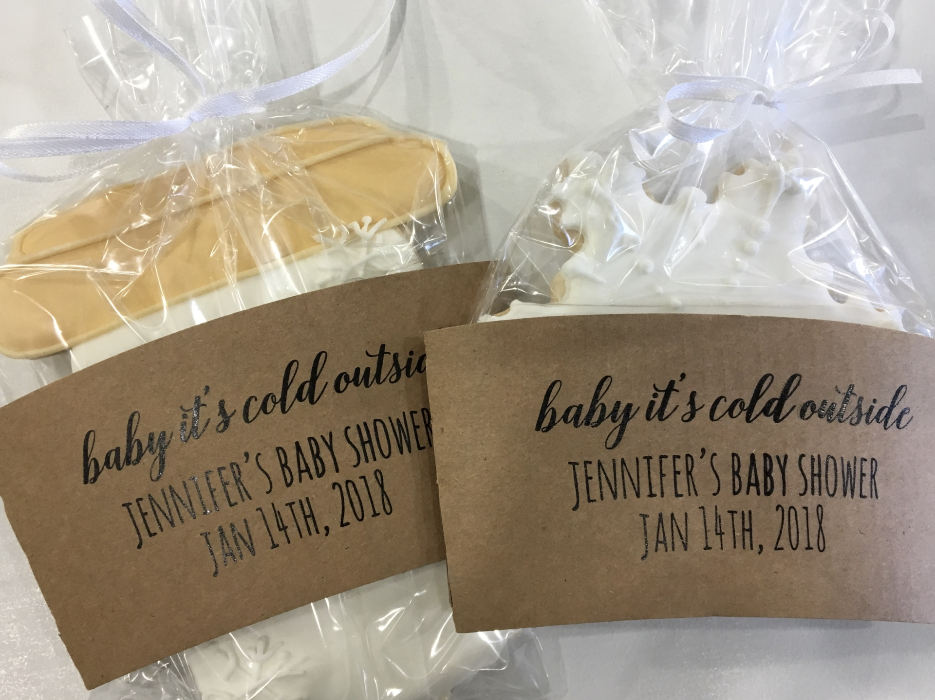 Custom Cookie Favors NJ Cakes