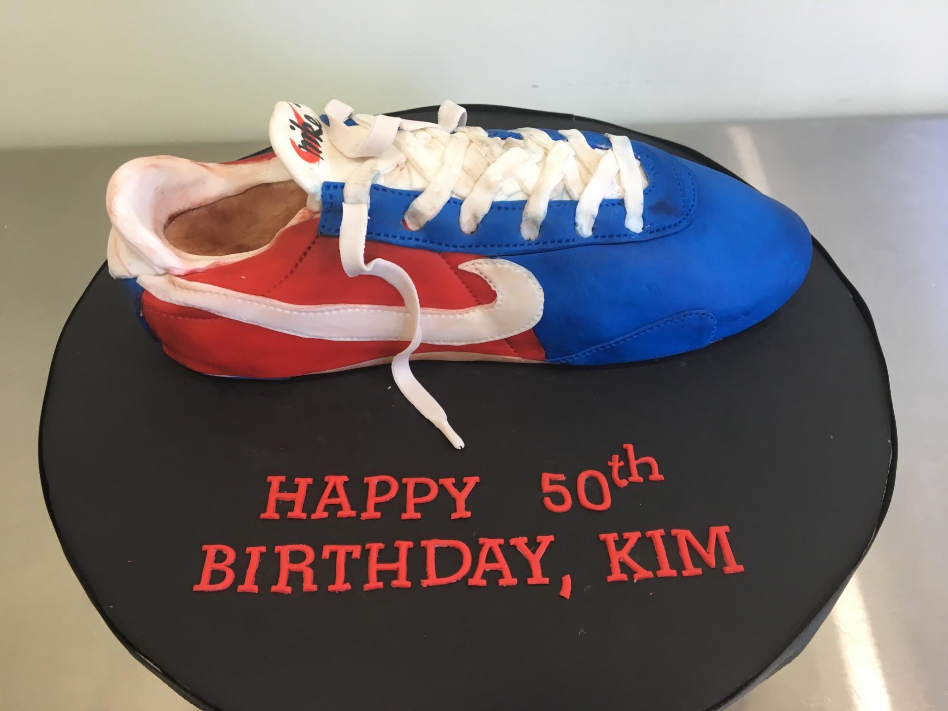 Custom Cakes NJ Iconic sneaker cake