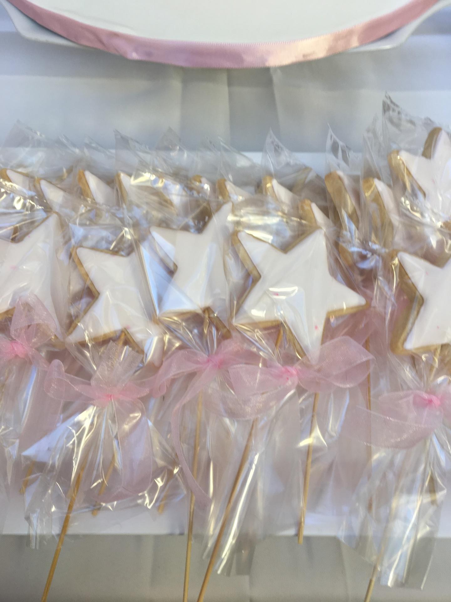 NJ Custom Cakes Cookies Fairy Wand Cookies