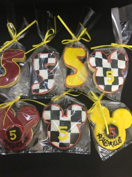 NJ Custom Cakes Cookies Disney Cookies