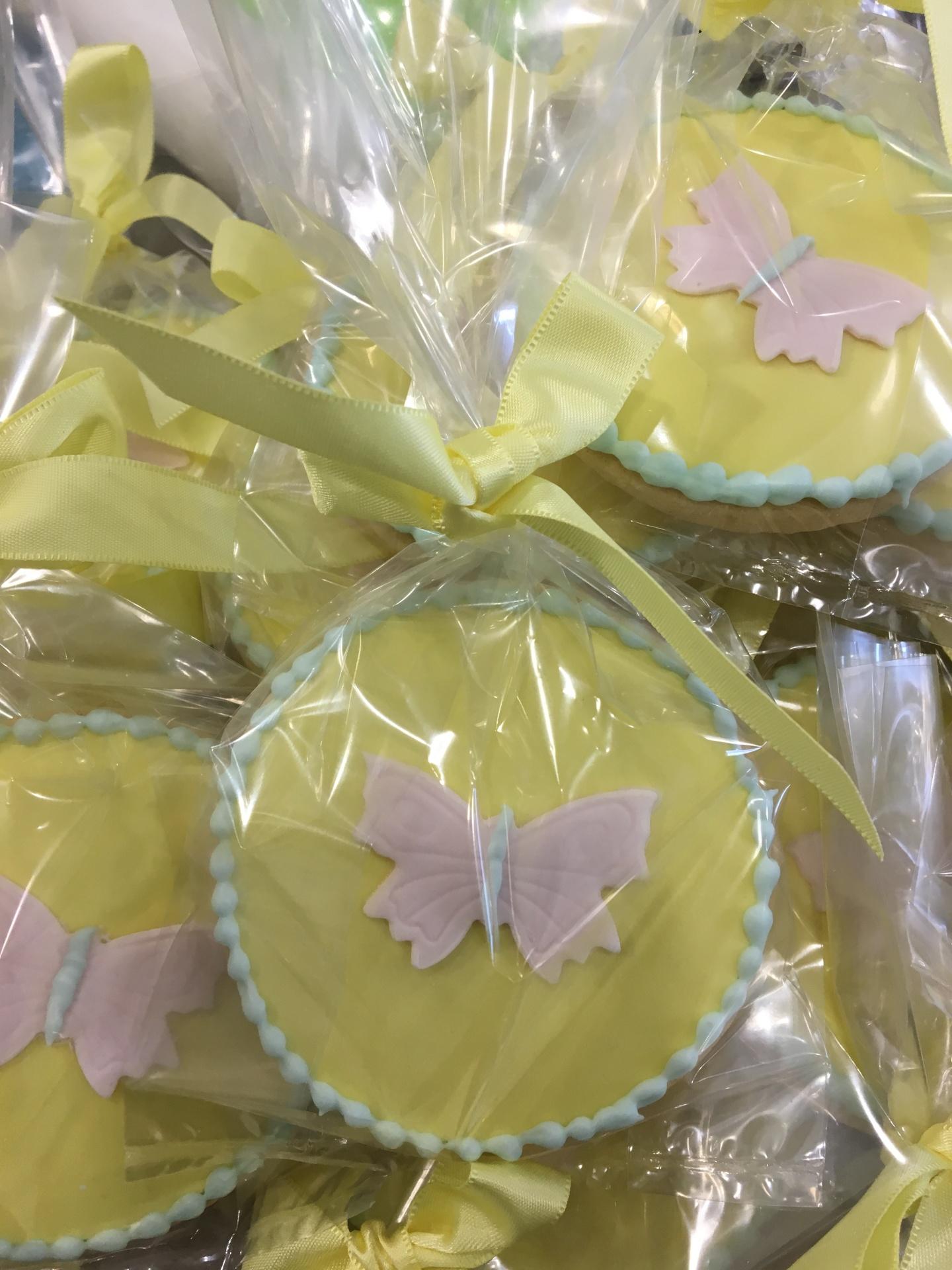 NJ Custom Cakes Cookies Butterfly Cookies