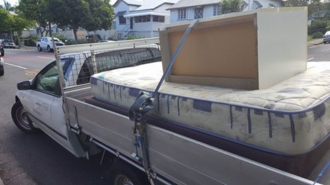 bed and mattress moving