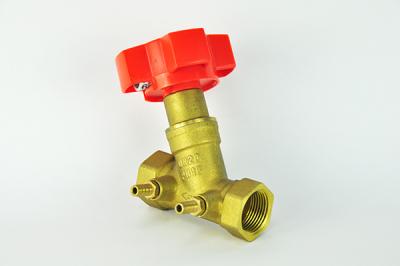 Brass balance valve