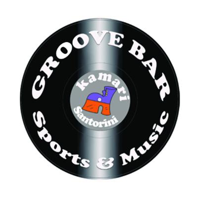 Chatterbox Santorini Groove Bar Kamari logo