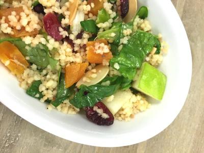 Cranberry Apple Couscous Salad
