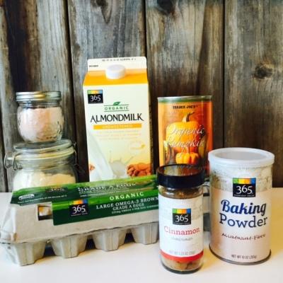 Fall-Inspired Quinoa Flour Pancake