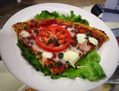 Margherita Pizza with Cauliflower Crust