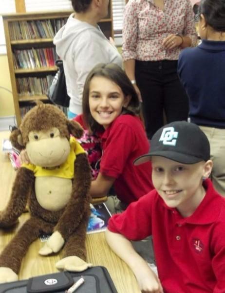 """""""Monkey"""", Allie & Erin"""