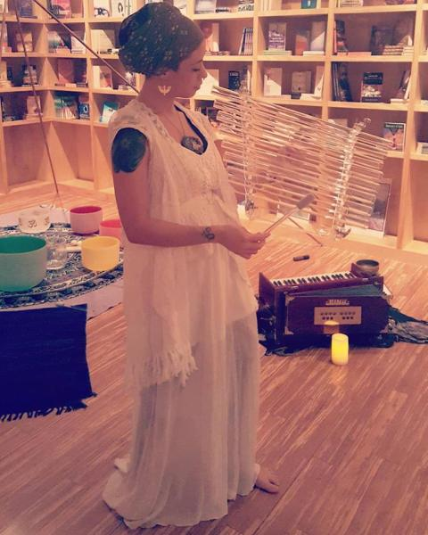 Sound Bath with the amazing Lila and her Crystal Harp