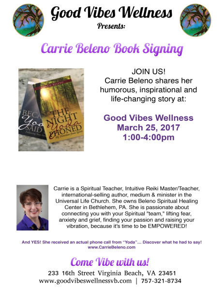 Carrie Beleno Book Signing