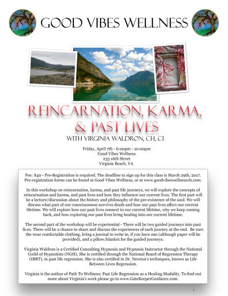 Reincarnation, Karma, and Past Lives