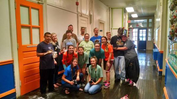 Volunteers from NC