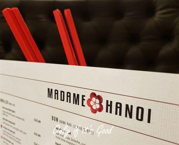 Madame Hanoi - What? No pho?