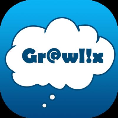 Grawlix chat story digital comic app icon