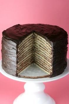 10 Layer Chocolate Cake